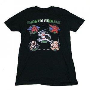 CAPCOM 魔界村 フルサークル Tシャツ(BLACK)
