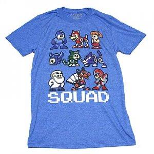 ロックマン SQUAD Tシャツ