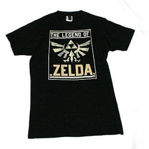 ゼルダの伝説 スクエアロゴ Tシャツ
