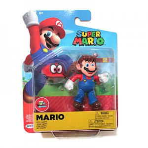 <img class='new_mark_img1' src='https://img.shop-pro.jp/img/new/icons48.gif' style='border:none;display:inline;margin:0px;padding:0px;width:auto;' />WORLD OF NINTENDO 4インチフィギュア WAVE19(マリオ&キャッピー)