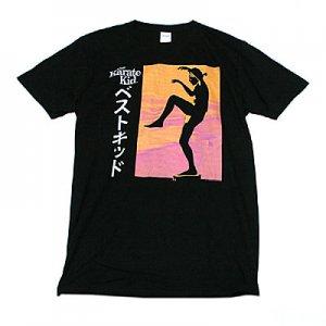 ベストキッド 日本語タイトルTシャツ Tシャツ