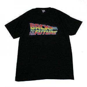 バック・トゥ・ザ・フューチャー タイトル Tシャツ