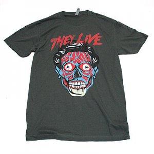 ゼイリブ Alien Face Tシャツ