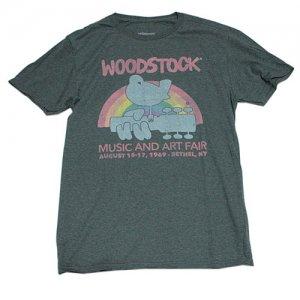 ウッドストック MUSIC AND ART FAIRTシャツ