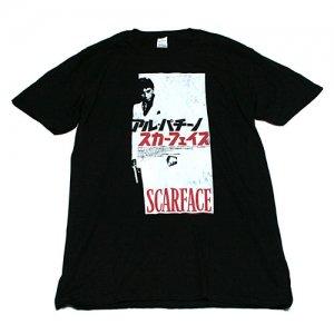 スカーフェイス 日本語ポスター Tシャツ