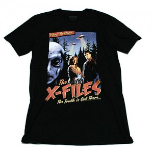 X-ファイル オールドポスター Tシャツ