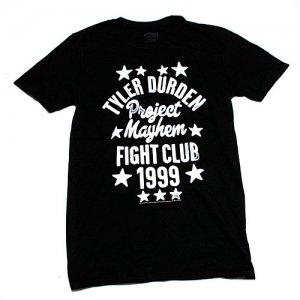 ファイトクラブ TYLER DURDEN 1999 Tシャツ(Black)