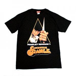 時計じかけのオレンジ タイトル Tシャツ(Black)