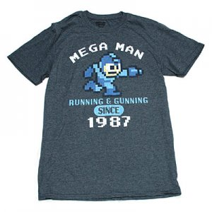 <img class='new_mark_img1' src='https://img.shop-pro.jp/img/new/icons5.gif' style='border:none;display:inline;margin:0px;padding:0px;width:auto;' />ロックマン RUNNING & GUNNING Tシャツ