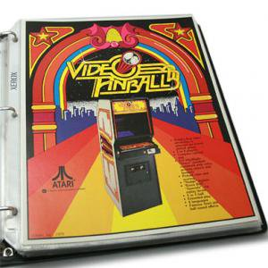 VIDEO PINBALL (1979)  フライヤー
