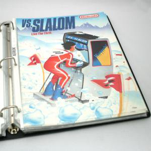 VS.SLALOM (1986) フライヤー