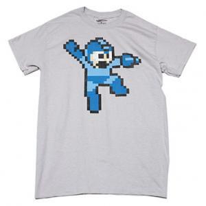 ロックマン ドットTシャツ(S・GREY)