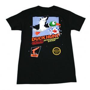 Nintendo ダックハントNESTシャツ