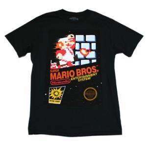 Nintendo スーパーマリオブラザーズ NES Tシャツ