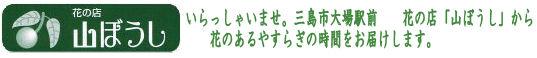 花の店山ぼうし 〜花のあるココロ豊かな暮らしのご提案〜