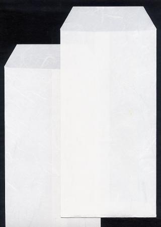 和紙封筒 長形3号 白 5枚束