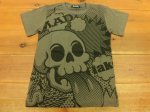 <img class='new_mark_img1' src='https://img.shop-pro.jp/img/new/icons35.gif' style='border:none;display:inline;margin:0px;padding:0px;width:auto;' />YO MAD SKULL S/S TEE(フレイク)