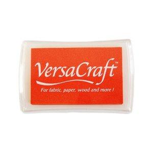 [30%OFF]布用インクパッドVersa Craft:tangerine:橙