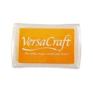 [30%OFF]布用インクパッドVersa Craft:lemon yellow:黄