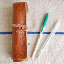 OLD FASHION ROLL PEN CASE