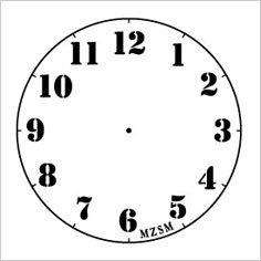 ... 時計 l 水 縞 ハンコ 時計 l