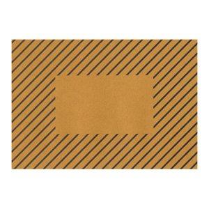 [30%OFF][水縞]枠抜き厚手封筒/洋2/縞々