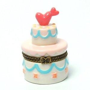 [30%OFF]トリンケットボックス/ケーキ