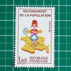 フランス切手/国勢調査