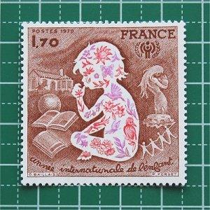 フランス切手/国際児童年'79