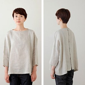 [fog linen work] ALICIA Tシャツ/ナクレ