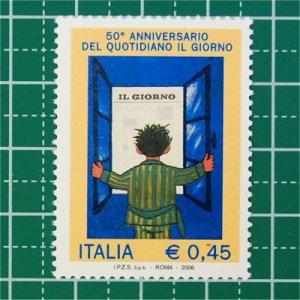 イタリア切手/イル・ジョルノ紙50年