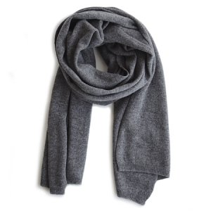 [30%OFF][TENNNET TURKEY]cashmere scarf/charcoal grey