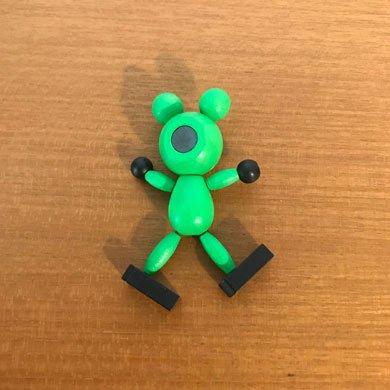 クルテク木製マグネット カエル