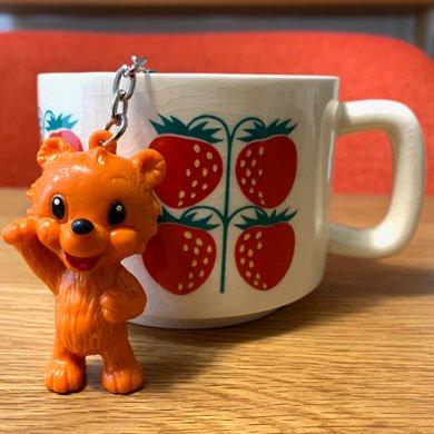 ALFI社 クマキーホルダー オレンジ