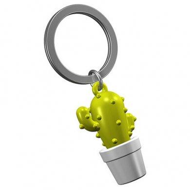 ベルギーデザイン メタルキーチェーン サボテン
