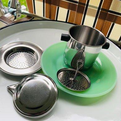 ベトナムコーヒーフィルター ステンレス