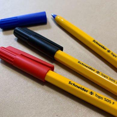 シュナイダーボールペン 505 レッド
