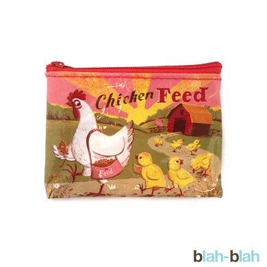 BLUE Qコインパース Chicken Feed
