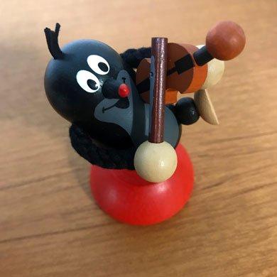 クルテク 木製フィギア バイオリン