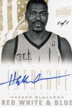 PANINI 12-13 INTRIGUE Autograph Card Hakeem Olajuwon 【1of1】 神田店