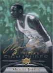 UPPER DECK 2012 ALL-TIME GREATS Michael Jordan Autograph Card 【10枚限定】 新宿店 ノーベル様