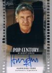LEAF 2012 POP CENTURY Harrison Ford Autograph Card 【5枚限定】 新宿店 ノーベル様