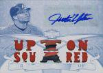 TOPPS TRIPLE THREADS 2013 JUSTIN UPTON 1OF1 Patch Auto White Whale 【1枚限定】池袋店 Def Tech様