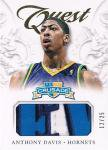 PANINI 2012-13 CRUSADE QUEST PATCH CARD Anthony Davis【25枚限定】 / 新宿店 シンブルズ様