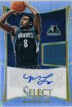 PANINI 2012-13 SELECT Jersey Autograph CARD Malcolm Lee / 新宿店 ヒローヤ様