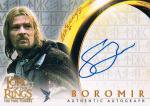 2003 TOPPS THE LORD OF THE RINGS BOROMIR AUTO 【?枚限定】 新宿店 オッズブレイカーH様