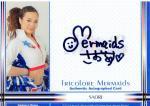 2013 横浜F・マリノス[SPED] 直筆サインカード さおり 【20枚限定】 梅田店 横浜トンボ返り様