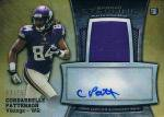 ☆TOPPS 2013 BOWMAN STERLING JERSEY AUTOGRAPH CARD Cordarrelle Patterson【75枚限定】 / 新宿店 黒羽様
