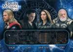 UD 2014 MARVEL THOR DARK MATERIALS QUAD CARD Thor&Loki&J.Foster&Odin / 新宿店 オッズブレイカーH様