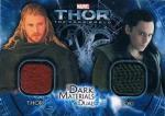 UD 2014 MARVEL THOR DARK MATERIALS DUAL CARD Thor&Loki / 新宿店 オッズブレイカーH様